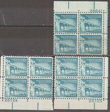 US   Sc# 1031A   MNH   Plate Blocks x 3      gtc