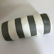 Kate Spade Highbury Paisley striped pillow decorative