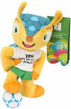 Fußball WM 2014 Fuleco Plüschfigur mit Saugnapf 13 cm Joy Toy