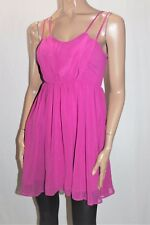 ASOS Brand Pink Fuchsia Chiffon Party Cocktail Dress Size 6 BNWT #SR107