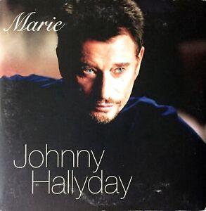 DVD VIDEO SINGLE PROMO JOHNNY HALLYDAY MARIE CARDBOARD SLEEVE COLLECTOR 2002