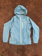 Womens Patagonia Mako blue Rain Jacket Size Small
