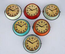 Set of 6 pcs Vintage Maritime Seiko Clocks Slave Navigation Ship World Clock