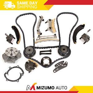 Timing Chain Kit Water Pump Fit 07-16 Cadillac Buick Pontiac Saab Suzuki 3.6