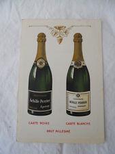 5/Ancienne carte de visite de représentant: Champagne Achille Perrier Epernay