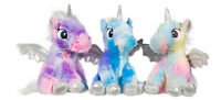 """NEW OFFICIAL 9"""" FLUFFY BABY UNICORN SOFT PLUSH TOYS"""