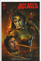 DCEASED #2 (SHANNON MAER EXCLUSIVE VARIANT) COMIC BOOK ~ DC Comics