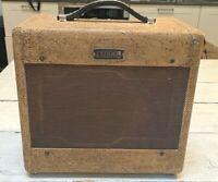 1954 Fender Princeton Tweed Tube Amplifier - 5C2 - True Vintage!