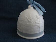 1994 Lladro Winter Bell Collectors Society Ornament w/ orig box and paperwork