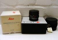 "Leica 11216 - Leica Summicron-R 1:2/50mm E55 ""1a Sammlerstück"" - OVP !"