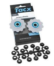Tacx Ceramic Jockey Wheels T4065 Pulley Set For 11 Teeth Shimano 9/10 Speed