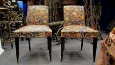 paire d' anciennes petites chaises  art deco epoque 1930