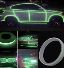 Roll Bright Green Reflective Sticker Motorcycle Car Luminous Reflective Tape