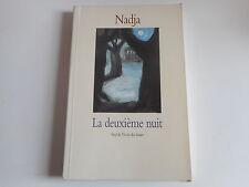 LA DEUXIEME NUIT - NADJA - L'ECOLE DES LOISIRS