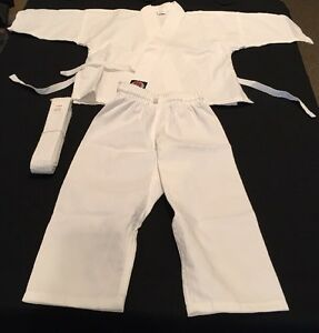 Pro Force Martial Arts Sport Fighting Uniform 0000 (4-5 Size) White