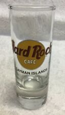 Hard Rock Cafe Shot Glasses Glass Logo Cayman Islands