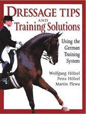 Dressage Tips and Training Solutions, New, Martin Plewa, Wolfgang Holzel, Petra