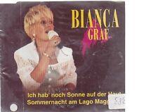 Bianca Graf - ich hab` noch Sonne auf der Haut Cd Maxi deutsch Pop und Rock Elec