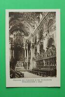 Bayern 3 AK Waldsassen 1920er OPF Kloster Kirche Kunst Architektur Chor Orato (2