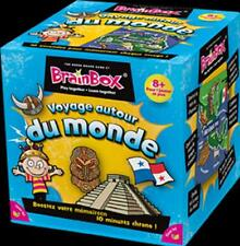 BrainBox Voyage autour du monde - Asmodée  - Green Board Games  - Jeu Neuf