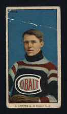 1910-11 C56 IMPERIAL TOBACCO ~ #9 ~ ANGUS CAMPBELL ~ ROOKIE CARD ~ HALL OF FAME