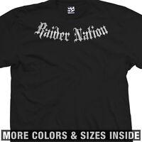 Raider Nation Addict T-Shirt - Raiders Las Vegas Fan Football All Sizes & Colors