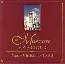 The Moscow Boy's Choir - Merry Christmas To All - CD