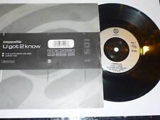 "CAPPELLA - U Got 2 Know - Deleted 1993 UK 7"" Vinyl Single"