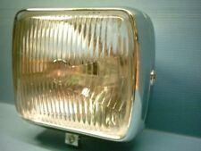 Zündapp KS Touring CS GTS 50 80 Lampe Scheinwerfer voll Chrom Eckig HQ NEU