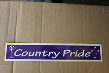Country Pride Ute large purple southern cross windmill bns B&S bar Sticker