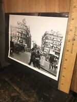 Vintage Photo Piccadilly Circus Marble Arch Sign London England 1954!