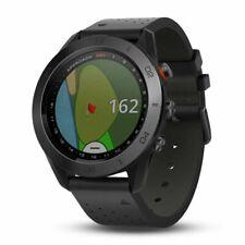 Garmin Approach S60 Gps Golf часы с черный кожаный ремешок 010-01702-03