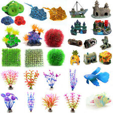 Artificial Sea Animal Plastic Fake Water Plant for Aquarium Fish Tank Ornaments