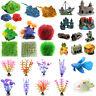 Artificial Water Plant Sea Animal Landscaping Ornaments Aquarium Fish Tank Decor