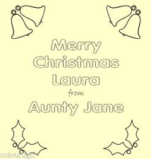 Personalised Xmas ACTIVITY PUZZLE BOOK A5. Gift Present