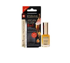 Best Eveline Argan Elixir 8 In 1 Intensely Regenerating Oil for Cuticles, Nails