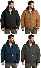 Carhartt стеганая с фланелевой подкладкой утка активная куртка J140 регулярные/высокие рабочие зимние