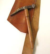 Marteau à clouer cordonnier sellier bourrelier Antique Leather Workers Hammer