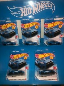 LOT OF(5) LB-SILHOUETTE WORKS GT NISSAN 35GT-RR VER.2 HOT WHEELS,NEW 2021,L CASE