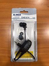 AURICOLARE/MICROFONO ALINCO EME 61A PER PMR DJ-FX446 EARPHONE MICROPHONE