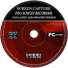 Screen Capture Recorder 2019 Record Your Desktop + Video Editor Converter PC MAC