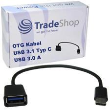 OTG Kabel Adapter schwarz USB 3.1 Typ C auf USB 3.0 für Samsung Galaxy S9 S9+