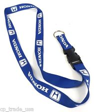Honda Blue Lanyard Neck Cell Phone Key Chain Strap Quick Release