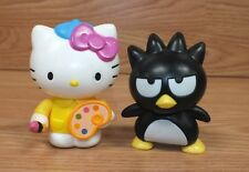 Lot of 2 Sanrio Small Hello Kitty & Badtz Maru McDonald's Happy Meal Toys *READ*