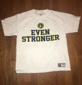 WWE  T Shirt Youth John Cena White U Cant Stop Me Large