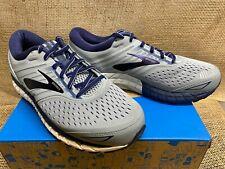 NIB Brooks 110282 Men's Beast '18 Grey/Blue Athletic Shoe