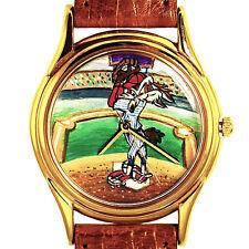 Wile E Coyote, Baseball Fast Pitch Attire, Fossil Warner Bros. Unworn Watch! $89