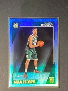 2016-17 Hoops Malcolm Brogdon SILVER ROOKIE RC #291 SP/99 HOT!!