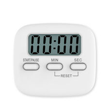 LCD Digital Kitchen Timer with Magnetic loud Alarm Cooking Digital Time Reminder