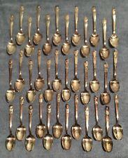 Presidents Commemorative Spoon Collection 36 pc Silver-Plate Washington to Nixon